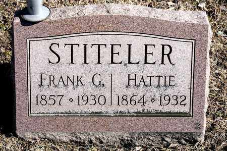 STITELER, HATTIE - Richland County, Ohio | HATTIE STITELER - Ohio Gravestone Photos