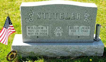 STITELER, WILLIAM T - Richland County, Ohio | WILLIAM T STITELER - Ohio Gravestone Photos