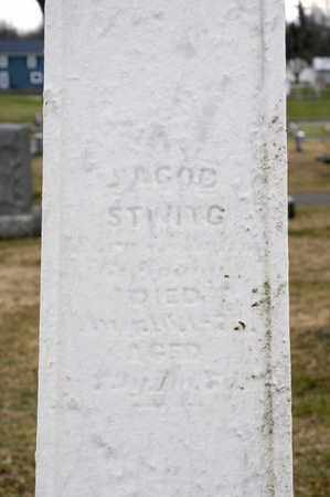 STIVING, JACOB - Richland County, Ohio | JACOB STIVING - Ohio Gravestone Photos