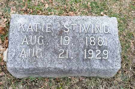 STIVING, KATIE - Richland County, Ohio | KATIE STIVING - Ohio Gravestone Photos