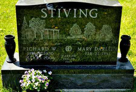 STIVING, RICHARD W - Richland County, Ohio | RICHARD W STIVING - Ohio Gravestone Photos