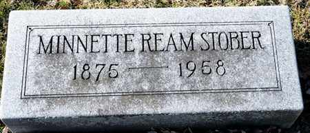 STOBER, MINNETTE REAM - Richland County, Ohio | MINNETTE REAM STOBER - Ohio Gravestone Photos