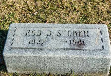 STOBER, ROD D - Richland County, Ohio | ROD D STOBER - Ohio Gravestone Photos