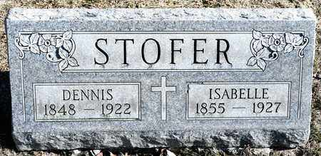 STOFER, ISABELLE - Richland County, Ohio | ISABELLE STOFER - Ohio Gravestone Photos