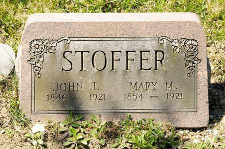 STOFFER, JOHN J - Richland County, Ohio | JOHN J STOFFER - Ohio Gravestone Photos