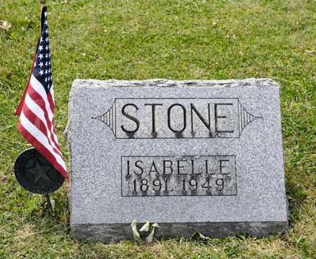 STONE, ISABELLE - Richland County, Ohio | ISABELLE STONE - Ohio Gravestone Photos