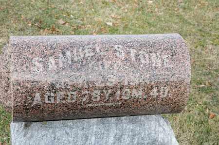 STONE, SAMUEL - Richland County, Ohio | SAMUEL STONE - Ohio Gravestone Photos