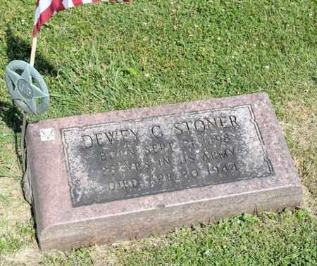 STONER, DEWEY G - Richland County, Ohio | DEWEY G STONER - Ohio Gravestone Photos