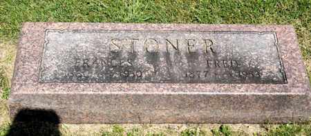 STONER, FRANCES - Richland County, Ohio | FRANCES STONER - Ohio Gravestone Photos