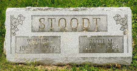 STOODT, WALTER - Richland County, Ohio | WALTER STOODT - Ohio Gravestone Photos
