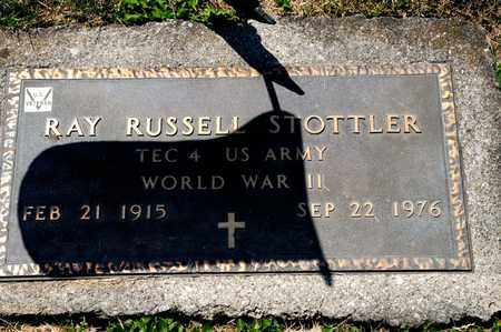 STOTTLER, RAY RUSSELL - Richland County, Ohio | RAY RUSSELL STOTTLER - Ohio Gravestone Photos