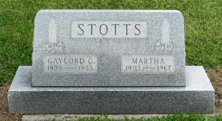 STOTTS, MARTHA - Richland County, Ohio | MARTHA STOTTS - Ohio Gravestone Photos