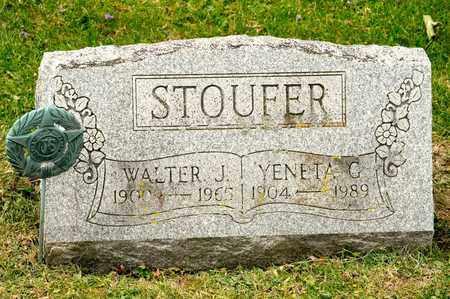 STOUFER, YENETA G - Richland County, Ohio | YENETA G STOUFER - Ohio Gravestone Photos