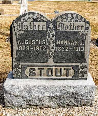 STOUT, AUGUSTUS - Richland County, Ohio | AUGUSTUS STOUT - Ohio Gravestone Photos