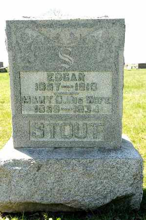 STOUT, MARY D - Richland County, Ohio | MARY D STOUT - Ohio Gravestone Photos
