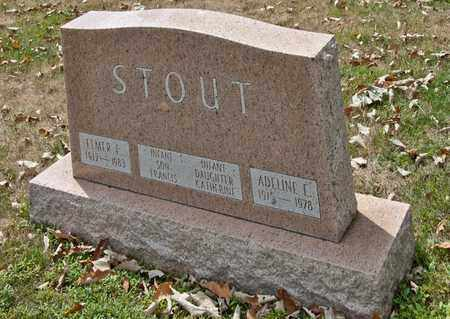 STOUT, FRANCIS - Richland County, Ohio | FRANCIS STOUT - Ohio Gravestone Photos