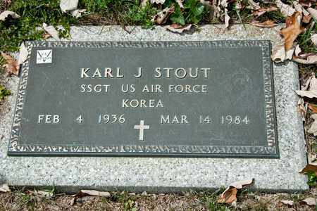 STOUT, KARL J - Richland County, Ohio | KARL J STOUT - Ohio Gravestone Photos