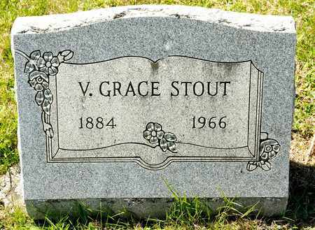 STOUT, V GRACE - Richland County, Ohio | V GRACE STOUT - Ohio Gravestone Photos
