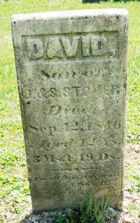 STOVER, DAVID - Richland County, Ohio | DAVID STOVER - Ohio Gravestone Photos