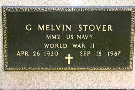 STOVER, G MELVIN - Richland County, Ohio | G MELVIN STOVER - Ohio Gravestone Photos