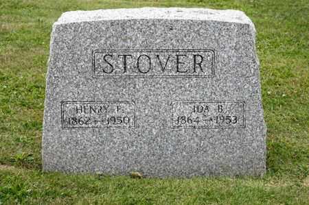 STOVER, IDA B - Richland County, Ohio | IDA B STOVER - Ohio Gravestone Photos