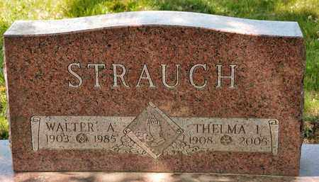STRAUCH, THELMA I - Richland County, Ohio | THELMA I STRAUCH - Ohio Gravestone Photos