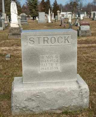 STROCK, HENRY W - Richland County, Ohio | HENRY W STROCK - Ohio Gravestone Photos