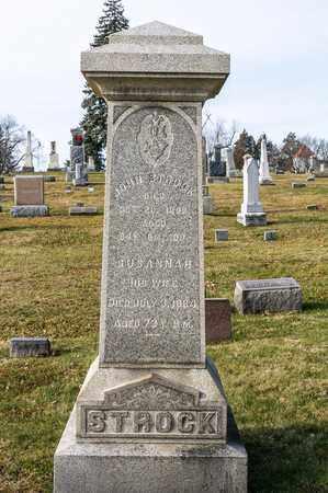 STROCK, JOHN - Richland County, Ohio | JOHN STROCK - Ohio Gravestone Photos