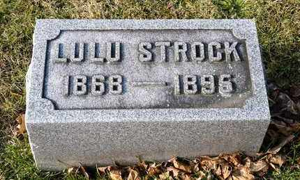 STROCK, LULU - Richland County, Ohio | LULU STROCK - Ohio Gravestone Photos