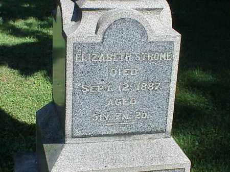 STROME, ELIZABETH - Richland County, Ohio | ELIZABETH STROME - Ohio Gravestone Photos