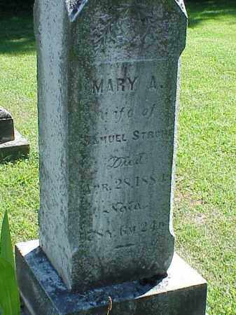 STROME, MARY A. - Richland County, Ohio | MARY A. STROME - Ohio Gravestone Photos