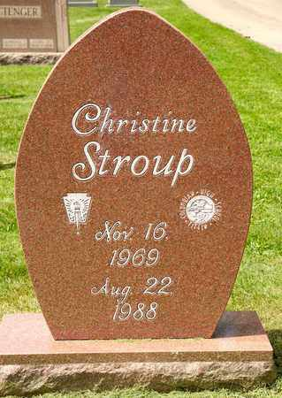 STROUP, CHRISTINE - Richland County, Ohio | CHRISTINE STROUP - Ohio Gravestone Photos