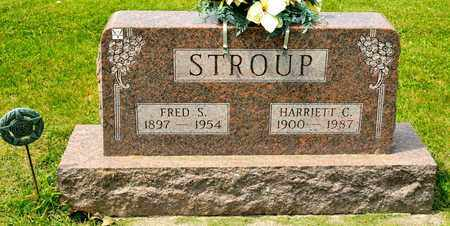 STROUP, FRED S - Richland County, Ohio | FRED S STROUP - Ohio Gravestone Photos