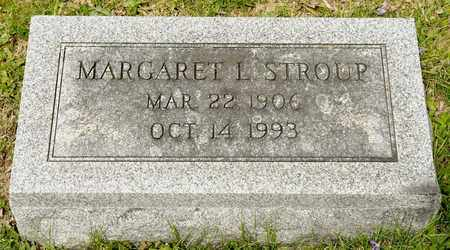 STROUP, MARGARET L - Richland County, Ohio | MARGARET L STROUP - Ohio Gravestone Photos