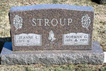 STROUP, NORMAN G - Richland County, Ohio | NORMAN G STROUP - Ohio Gravestone Photos