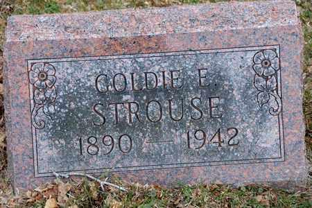 STROUSE, GOLDIE E - Richland County, Ohio | GOLDIE E STROUSE - Ohio Gravestone Photos