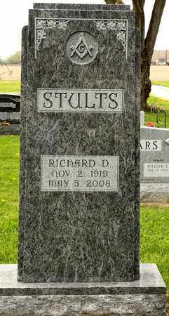 STULTS, RICHARD D - Richland County, Ohio | RICHARD D STULTS - Ohio Gravestone Photos