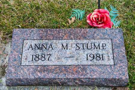 STUMP, ANNA M - Richland County, Ohio | ANNA M STUMP - Ohio Gravestone Photos