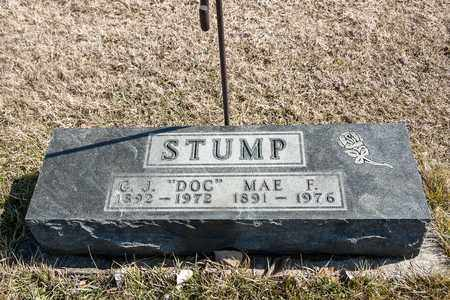 STUMP, MAE F - Richland County, Ohio | MAE F STUMP - Ohio Gravestone Photos
