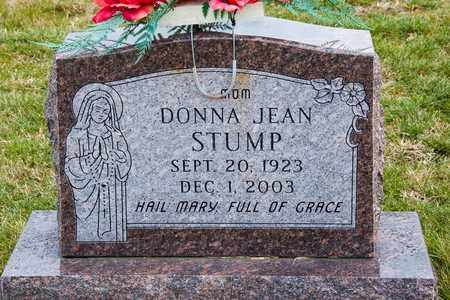 STUMP, DONNA JEAN - Richland County, Ohio | DONNA JEAN STUMP - Ohio Gravestone Photos