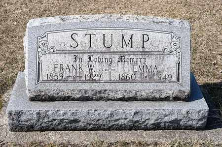 STUMP, EMMA - Richland County, Ohio | EMMA STUMP - Ohio Gravestone Photos