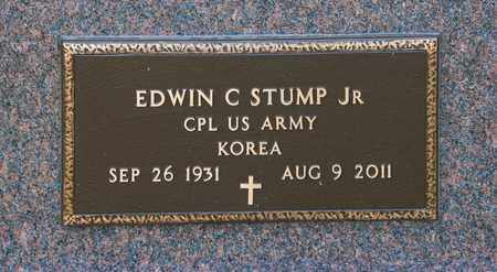 STUMP JR, EDWIN C - Richland County, Ohio | EDWIN C STUMP JR - Ohio Gravestone Photos