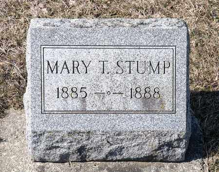 STUMP, MARY T - Richland County, Ohio | MARY T STUMP - Ohio Gravestone Photos