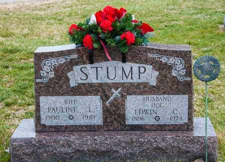 STUMP, EDWIN C - Richland County, Ohio | EDWIN C STUMP - Ohio Gravestone Photos