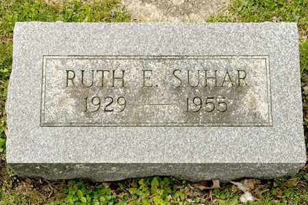 SUHAR, RUTH E - Richland County, Ohio | RUTH E SUHAR - Ohio Gravestone Photos
