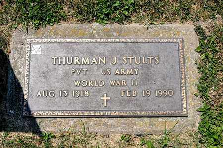 SULTS, THURMAN J - Richland County, Ohio | THURMAN J SULTS - Ohio Gravestone Photos