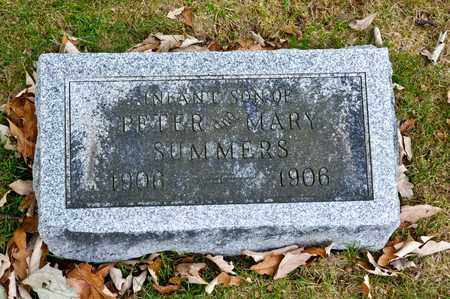 SUMMERS, INFANT SON - Richland County, Ohio | INFANT SON SUMMERS - Ohio Gravestone Photos
