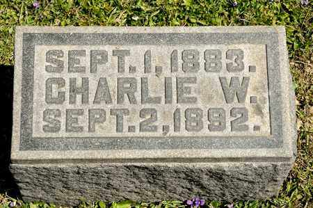 SUTCH, CHARLIE W - Richland County, Ohio | CHARLIE W SUTCH - Ohio Gravestone Photos