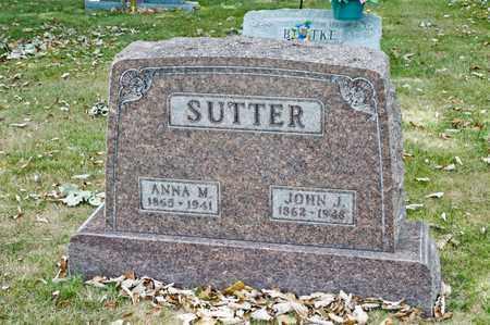 SUTTER, JOHN J - Richland County, Ohio | JOHN J SUTTER - Ohio Gravestone Photos
