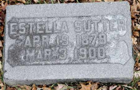 SUTTER, ESTELLA - Richland County, Ohio | ESTELLA SUTTER - Ohio Gravestone Photos